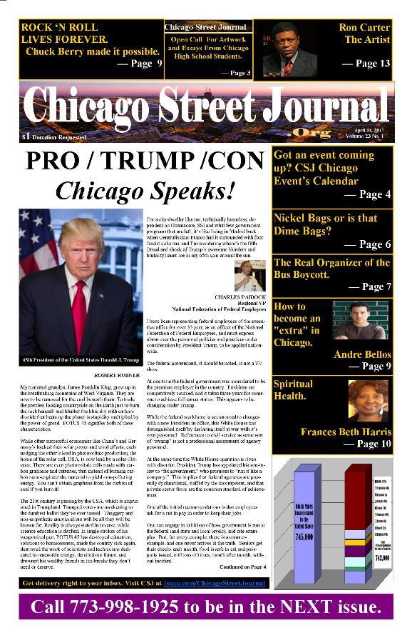Volumn 23 Number 1 April 14, 2017 Page 1 Reduced